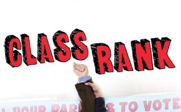 "Poster for the movie ""Class Rank"""