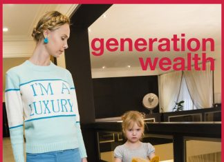 """Poster for the movie """"Generation Wealth"""""""