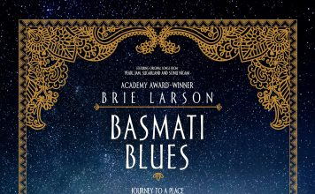 "Poster for the movie ""Basmati Blues"""