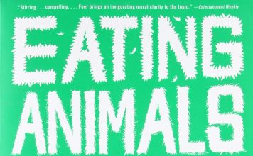 "Poster for the movie ""Eating Animals"""
