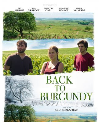 "Poster for the movie ""Back to Burgundy"""