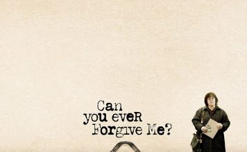 "Poster for the movie ""Can You Ever Forgive Me?"""