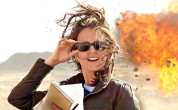 """Poster for the movie """"Whiskey Tango Foxtrot"""""""