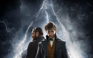 "Poster for the movie ""Fantastic Beasts: The Crimes of Grindelwald"""