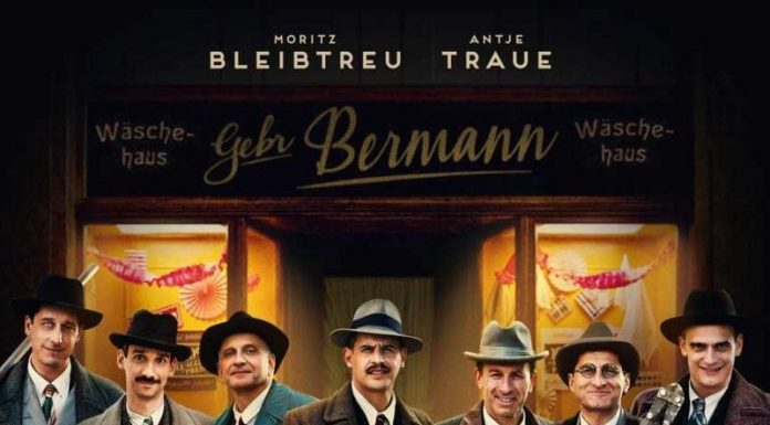 """Poster for the movie """"Bye Bye Germany"""""""