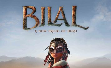 "Poster for the movie ""Bilal: A New Breed of Hero"""
