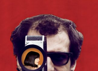 """Poster for the movie """"Godard Mon Amour"""""""